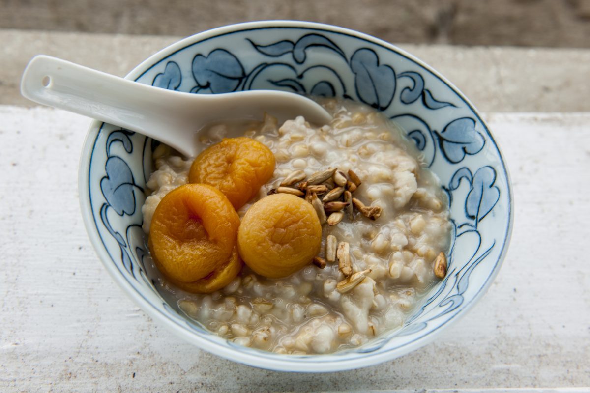 Creamy Whole Rice Porridge