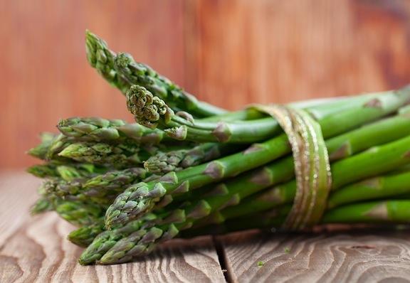 Tied Asparagus Bundles