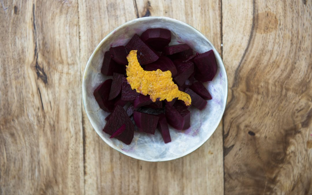 Fermented Beetroot with Ginger and Orange