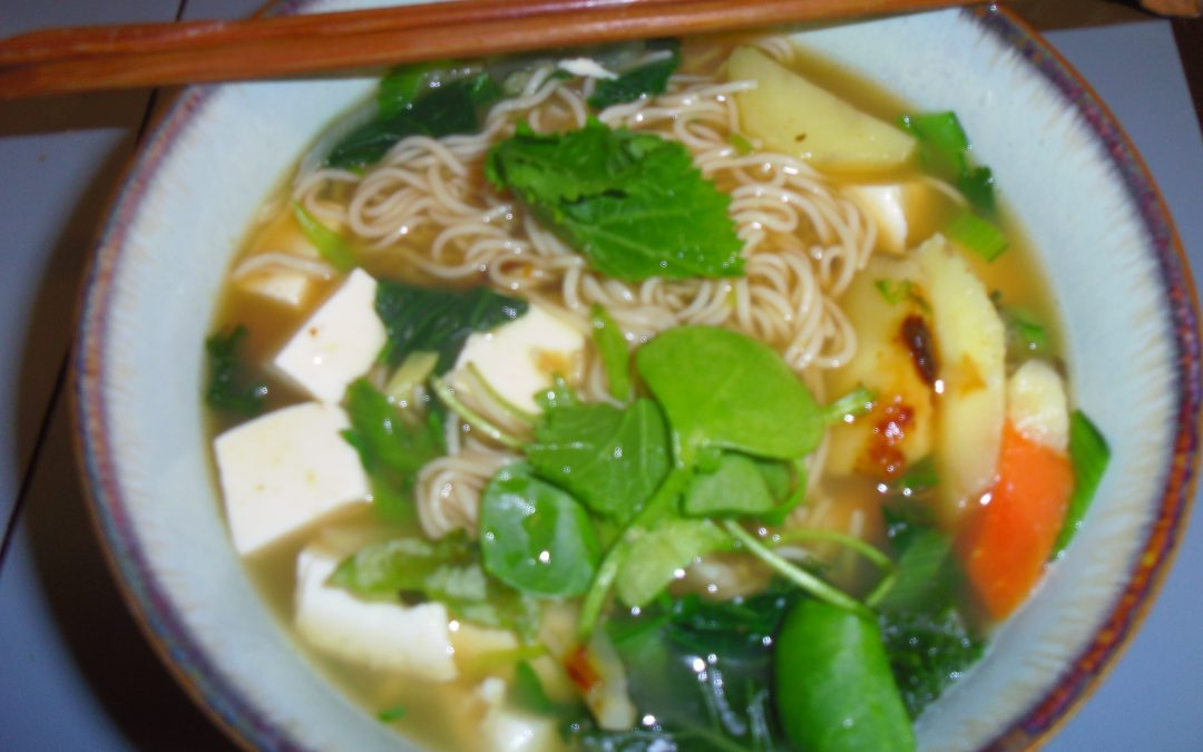 Quick Noodles in Broth