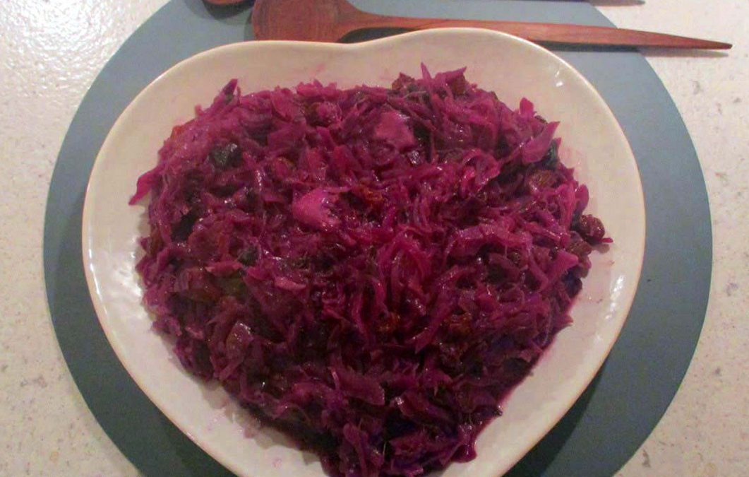 Sweet and Sour Purple Cabbage