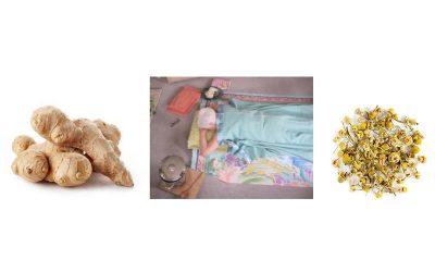 Ginger or Chamomile Compress